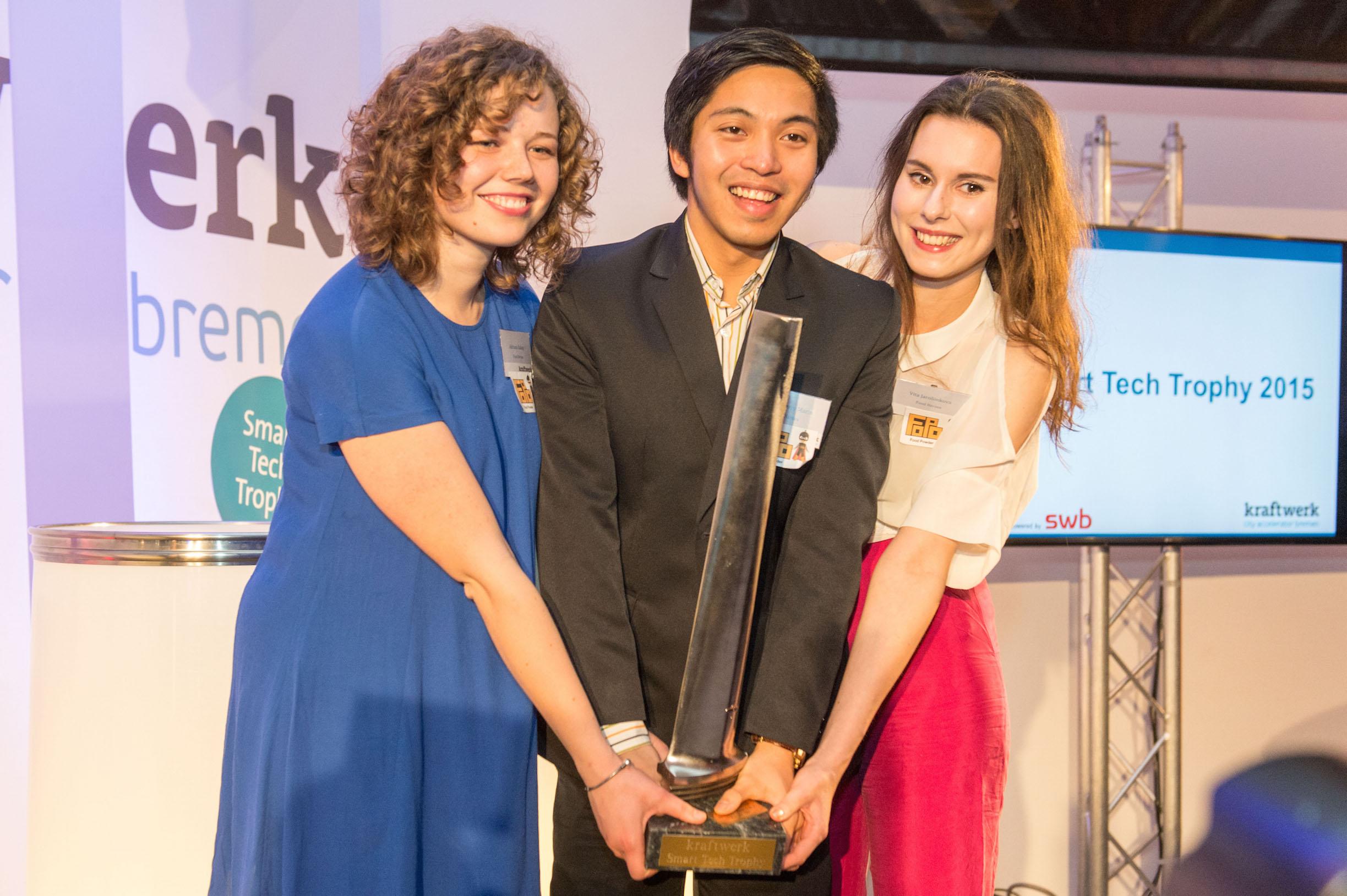 """The winner of """"Smart Tech Trophy"""" is…"""