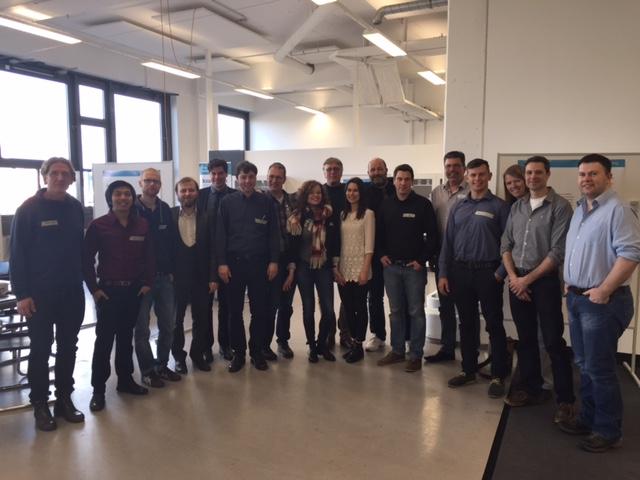 Kickoff für Startups im CAB