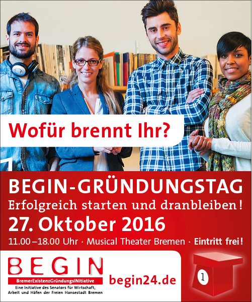 BEGIN-GRÜNDUNGSTAG