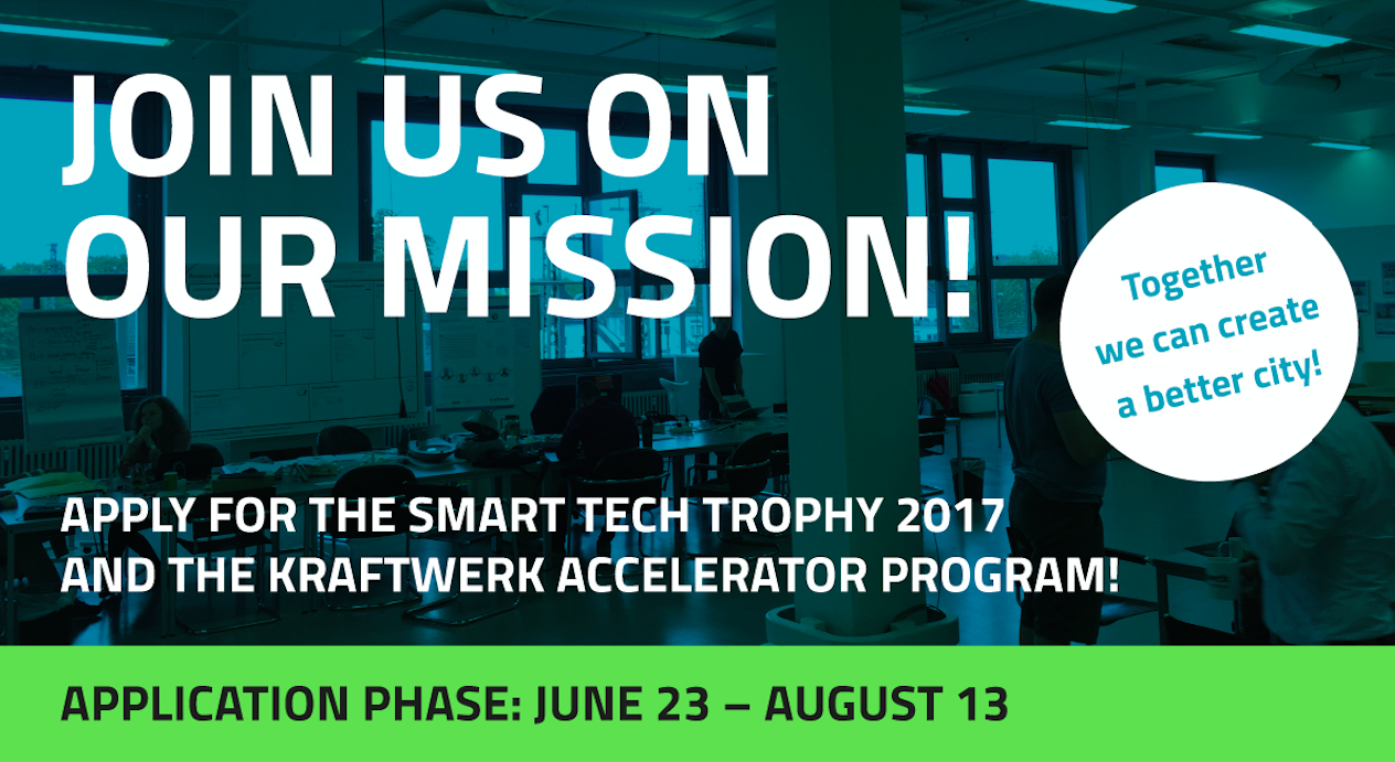 SMART TECH TROPHY 2017 – Apply Now!