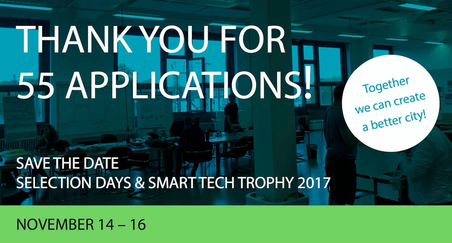 55 startups compete for the SMART TECH TROPHY