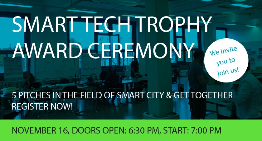 SMART TECH TROPHY: Preisverleihung am 16. November
