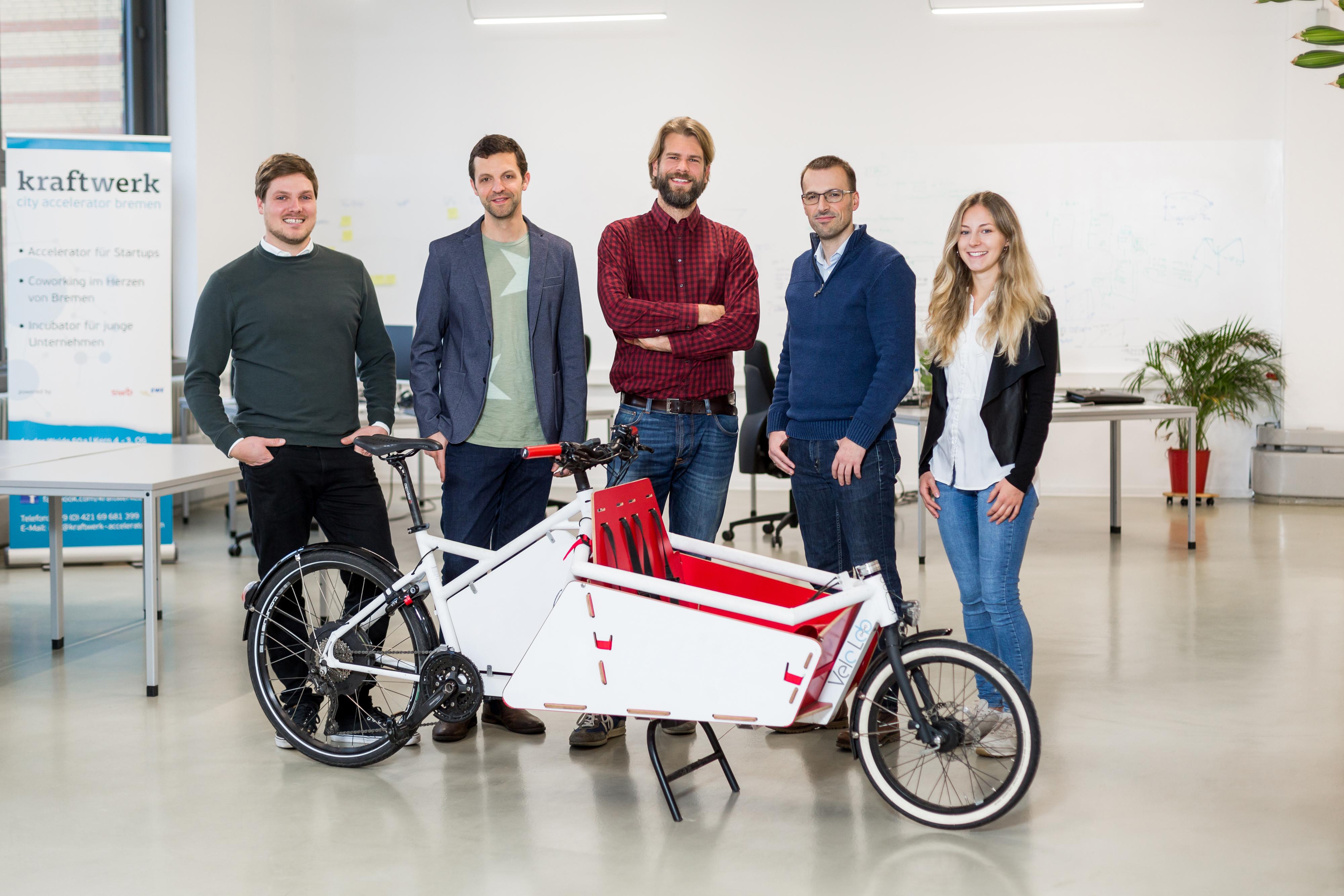 Das Startup Splitshare will Bremen mit Elektro-Lastenrädern Beine machen