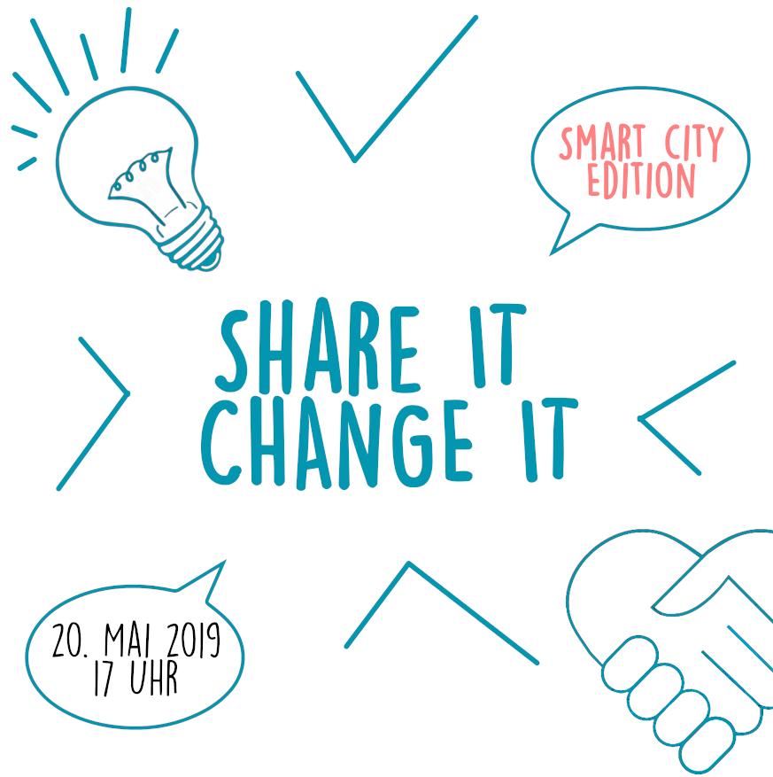 """Nicht nur schnacken, hier entsteht Zukunft: """"Share it, Change it"""""""